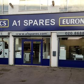 Image taken from the outside of A1 spares Store