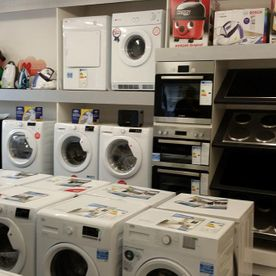 View of a wide range of products that are stock at our store